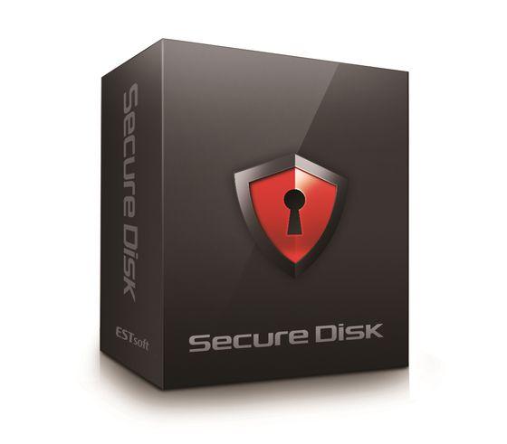이스트소프트의 문서 보안 솔루션 '시큐어디스크'. ⓒ이스트소프트