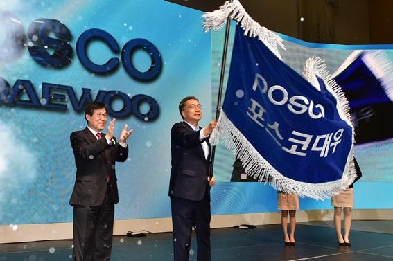 지난 3월 인천 송도 컨벤시아에서 열린 포스코대우