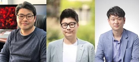 (왼쪽부터)정원석 KAIST 교수, 김선주 연세대 교수, 양희준 성균관대 교수.ⓒ삼성전자