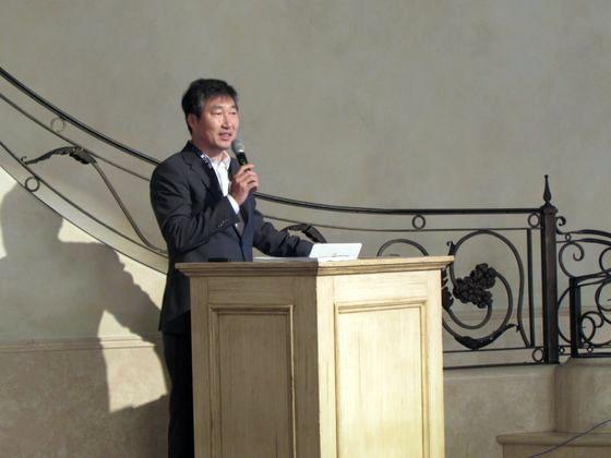 김택완 블랙덕소프트웨어코리아 대표가 22일 서울 강남구 더라움에서 열린