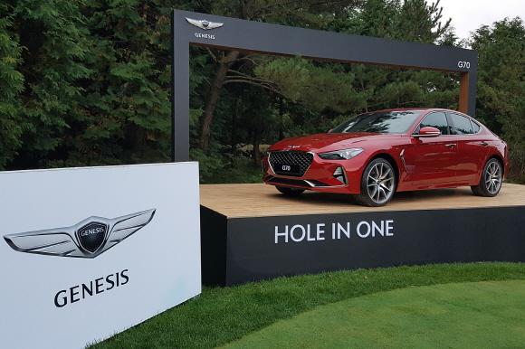 제네시스 브랜드가 이달 19일부터 22일까지 4일간 제주도에 위치한 '클럽 나인브릿지 제주'에서 국내 최초로 개최되는 PGA투어 정규 골프 대회 'THE CJ CUP @ NINE BRIDGES'를 공식 후원한다.ⓒ제네시스