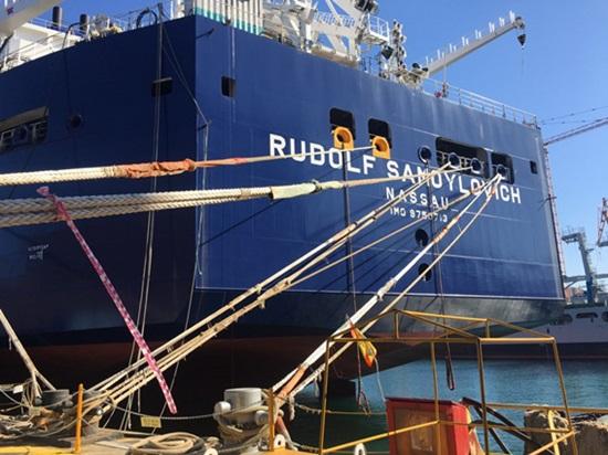 대우조선해양이 건조하는 쇄빙LNG선 15척 중 여섯번째