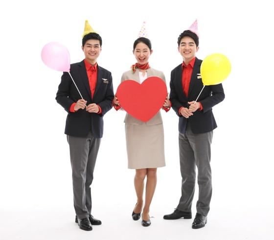 티웨이항공이 가정의 달을 맞아 특별한 기내 이벤트를 준비했다.ⓒ티웨이항공