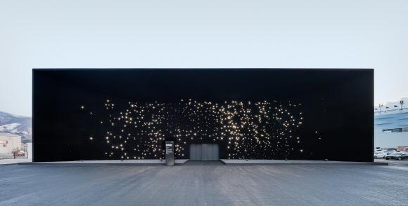 사진은 <2018 평창 동계올림픽대회>에서 전시됐던 현대자동차 파빌리온의 모습.ⓒ현대차