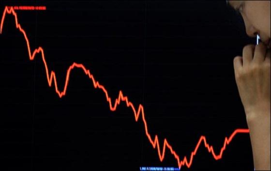 8일 코스피는 전날보다 13.69포인트(0.60%) 내린 2253.83에 장을 마쳤다. ⓒEBN