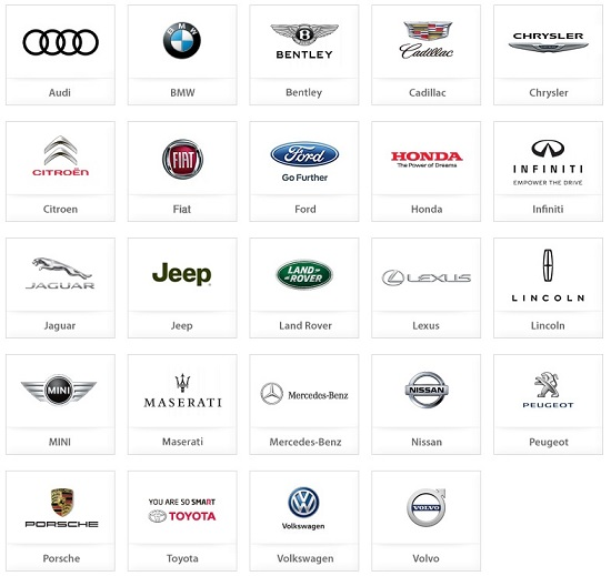 수입차 브랜드 ⓒ한국수입자동차협회 홈페이지