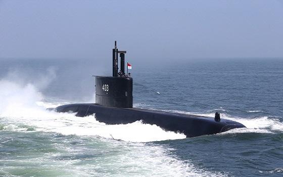 대우조선해양이 건조한 국내 첫 수출 잠수함 1400톤급