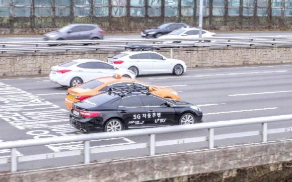5G 자율주행차