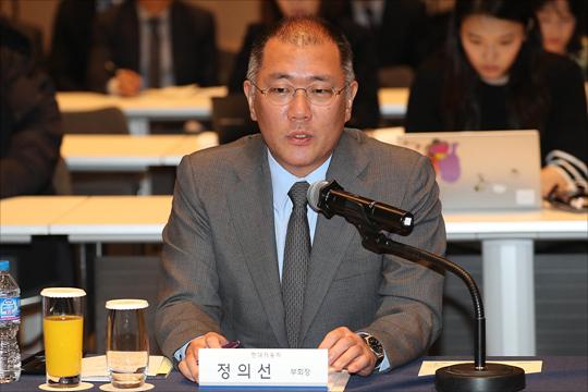 정의선 현대차 총괄 수석부회장 ⓒ데일리안 포토