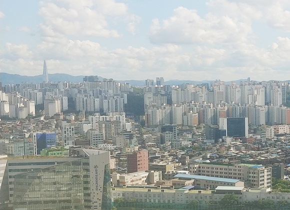 서울시 동대문구 주택단지 전경ⓒ김재환 기자
