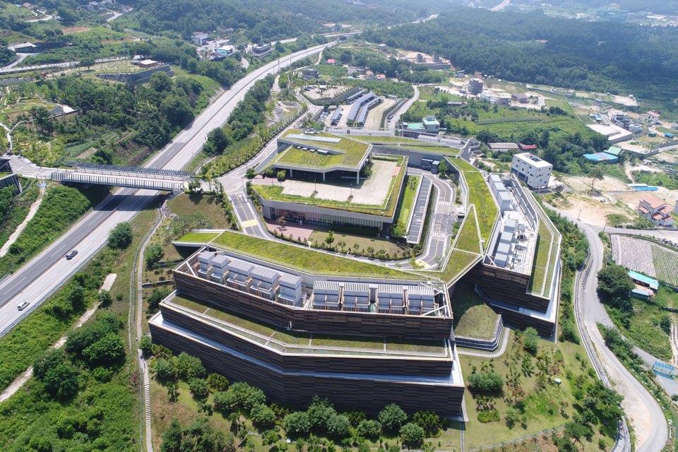 강원도 춘천에 위치한 네이버 데이터센터