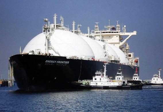 카타르 국영 카타르페트롤리엄이 보유한 LNG선 전경.ⓒ카타르페트롤리엄