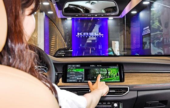 기아차 K7 Premier에 탑재된 크렐의 프리미엄 사운드 시스템. ⓒ현대모비스
