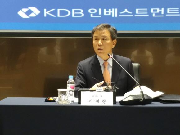 이대현 KDB인베스트먼트 대표.ⓒEBN
