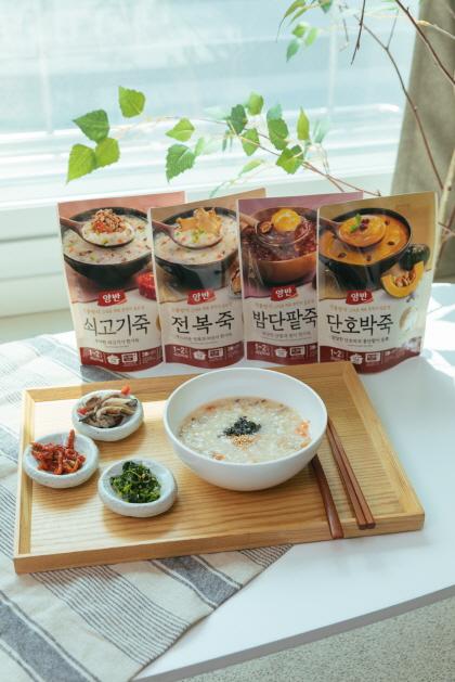 동원F&B 파우치 양반죽.