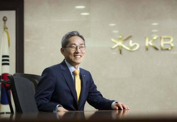 윤종규 KB금융그룹 회장.ⓒKB금융그룹