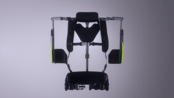 현대차·기아차는 4일 제조 현장에서 위를 보고 장시간 일하는 근로자들을 보조하는 웨어러블 로봇 '벡스(VEX· Vest Exoskeleton)'를 개발했다고 밝혔다. VEX를 착용하면 근로자들의 근골격계 질환을 크게 줄일 수 있고 작업 효율도 올라간다.ⓒ현대차그룹