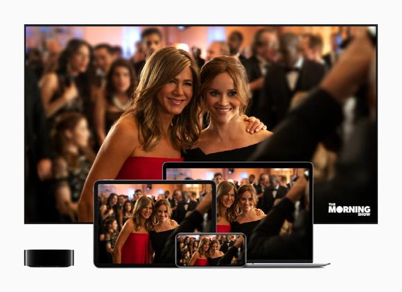 애플TV+는 11월 1일 100 개 이상의 국가 및 지역에서 애플TV 앱으로 제공 될 예정이다.ⓒ애플 홈페이지 캡처