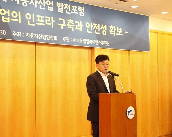 정만기 한국자동차산업협회장 겸 자동차산업연합회장 ⓒ한국자동차산업협회