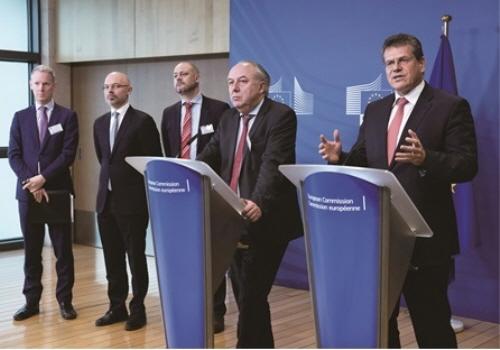 지난해 열린 EU 배터리연합 고위급 회의