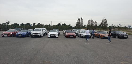 한국자동차기자협회(KAJA)가 2일 16개 브랜드 28대를 대상으로 2020 올해의 차 전반기 심사를 가졌다. ⓒEBN 박용환 기자