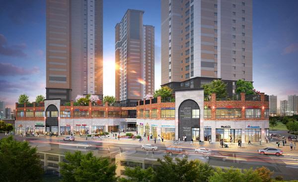 동원개발은 동탄2신도시 3차 동원로얄듀크 비스타의 단지 내 상가시설인 비스타스퀘어를 이달 중 분양한다. ⓒ동원개발