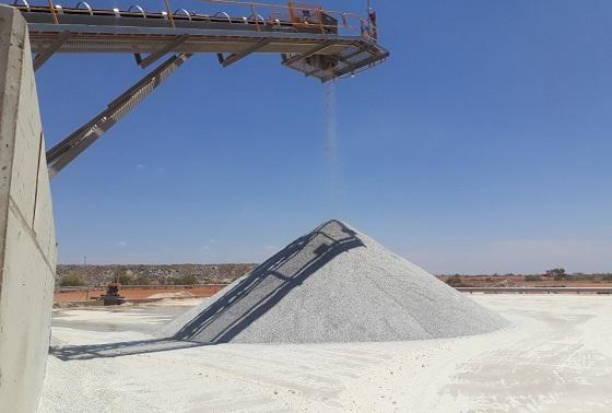 호주 필간구라 광산에서 리튬을 생산 중인 모습.ⓒEBN