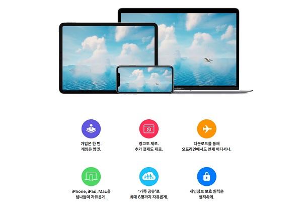 애플 아케이드ⓒ애플 홈페이지 캡쳐