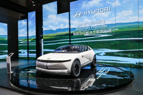 현대차의 EV 비전 콘셉트