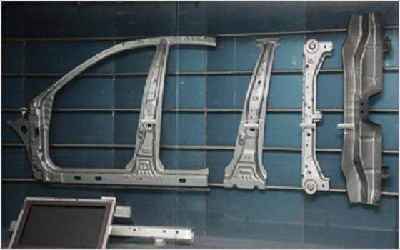 현대제철이 생산중인 자동차용 초고장력 강판.ⓒ현대제철