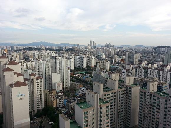 서울 강서구 아파트촌 전경, 본문과 무관함. ⓒEBN