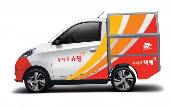 우정사업본부 우체국집배용 차량으로 선정된 쎄미시스코 D2C ⓒ쎄미시스코