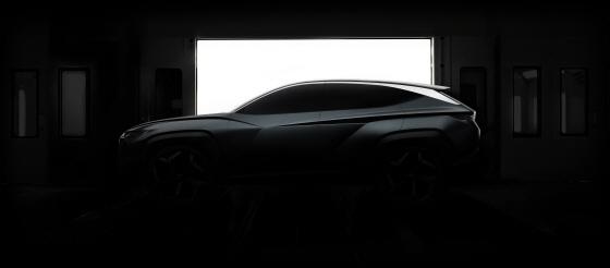 현대자동차 LA오토쇼 SUV 콘셉트카 티저 이미지ⓒ현대차