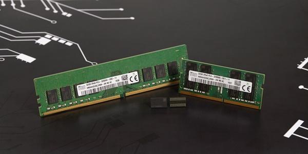 SK하이닉스가 개발한 3세대 10나노급(1z) DDR4 D램 ⓒSK하이닉스