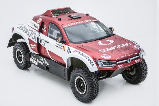 쌍용자동차가 2020 다카르 랠리에 참가할 코란도 DKR의 모습.ⓒ쌍용차