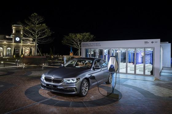 지난주 국내 최초 공개된 BMW 530e ⓒBMW 그룹 코리아