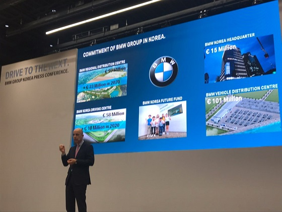 독일 BMW 그룹 임원인 니콜라스 피터(Nicolas Peter) 재무 총괄 ⓒEBN