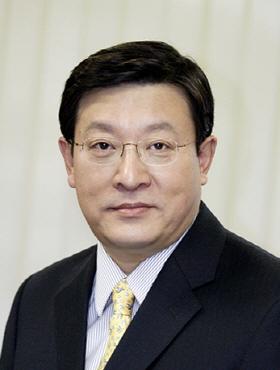 신임 회장으로 선임된 허태수 GS홈쇼핑 부회장.