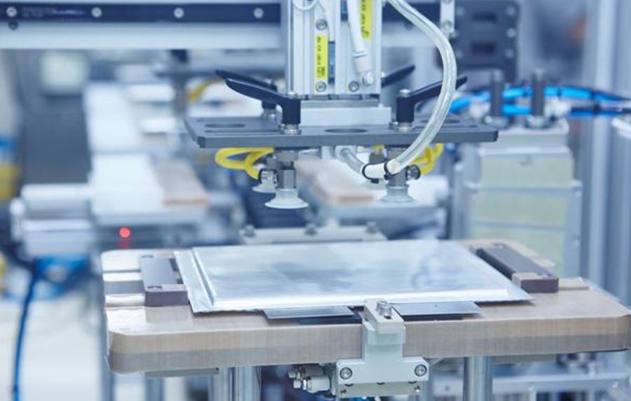 SK이노베이션 배터리 생산 설비.