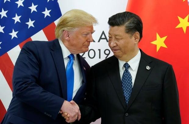 트럼프 미국 대통령과 시진핑 중국 주석.