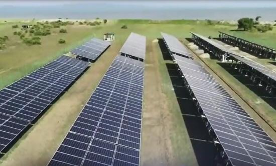 포스코인터내셔널이 전력부족으로 어려운 생활을 하고 있는 미얀마 마나웅섬 주민을 위하여 태양광 발전 시스템을 준공하며, 세계로 확산되는 포스코그룹의