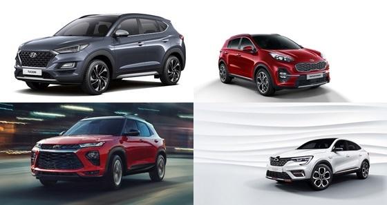 2020년 국내 완성차 SUV 풀라인업 격돌 ⓒ각 제조사