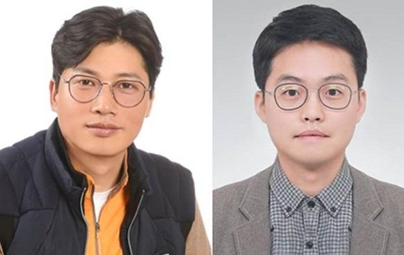 (좌측부터) 김진운씨, 하경민씨.