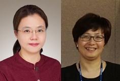 (왼쪽부터)김선화 상무, 박향숙 상무