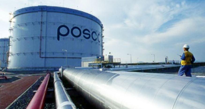 포스코에너지 LNG 저장탱크.