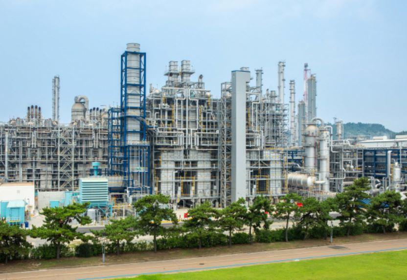 한화토탈이 지난해 9월 증설을 완료한 대산 가스전용 분해시설.