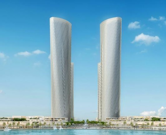카타르 루사일 타워 조감도.ⓒ현대건설