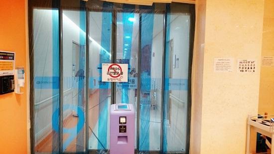 가톨릭대학교 은평성모병원 멸균장비 배치 후 모습.ⓒ우정바이오