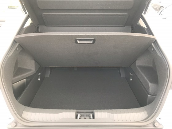 르노삼성 XM3 트렁크 공간 ⓒEBN