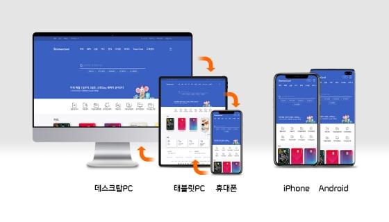 신한카드는 공식 홈페이지를 전면 개편, PC와 모바일 플랫폼의 경계를 허물어 하나로 통합된 홈페이지를 운영한다.ⓒ신한카드